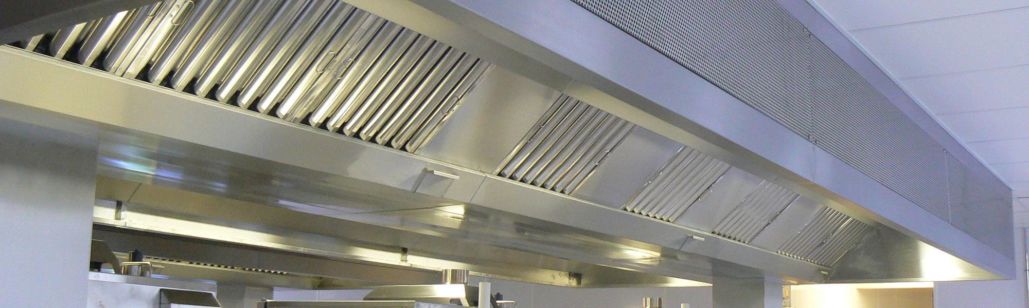 Kitchen Ventilation Canopies Banner